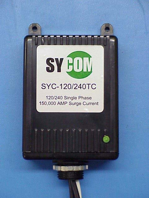 sycom panel surge protection